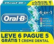 Creme Dental Oral-B 4 em 1 70g Leve 6 Pague 5
