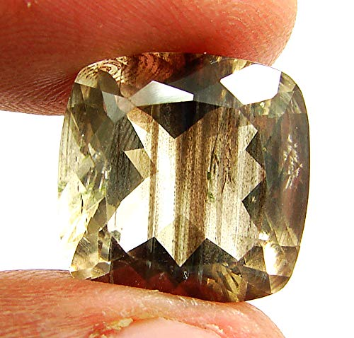 14.35 Ct Natural Scapolite Loose Gemstone Cushion Cut Top Quality Stone - 27994