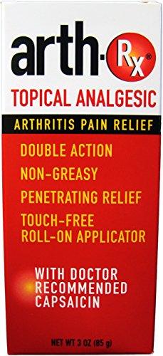 Arth-Rx Topical Analgesic Arthritis Pain Relief, 3 oz