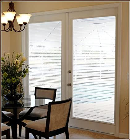Amazon Secure View One Way Film Etched Glass Semi Private