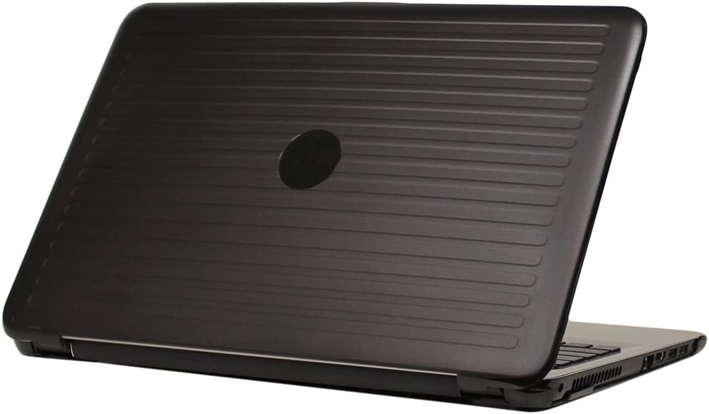 "mCover iPearl Hard Shell Case for 15.6"" HP 15-ayXXX (15-ay000 to15-ay099) Series/HP 15-baXXX Series (NOT Fitting 15"" Pavilion or Envy laptops) Notebook PC (Black)"