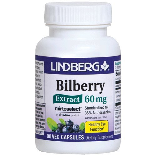 tract 36% Anthocyanins (90 vegetable capsules) (Bilberry Standardized Extract 90 Capsules)