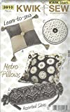 Kwik Sew 3910 Metro Pillows Sewing Pattern supplier:sailorsparadise
