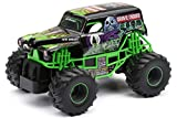 rc monster jam trucks - New Bright 2430 Monster Jam Grave Digger RC Truck, 1:24 (7-Inch) Scale