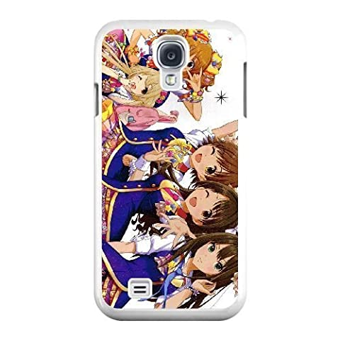 The best gift for Halloween and Christmas Samsung Galaxy S4 9500 Cell Phone Case White The Idolmaster Cinderella Girls (Cinderella Phone Cases Galaxy S4)