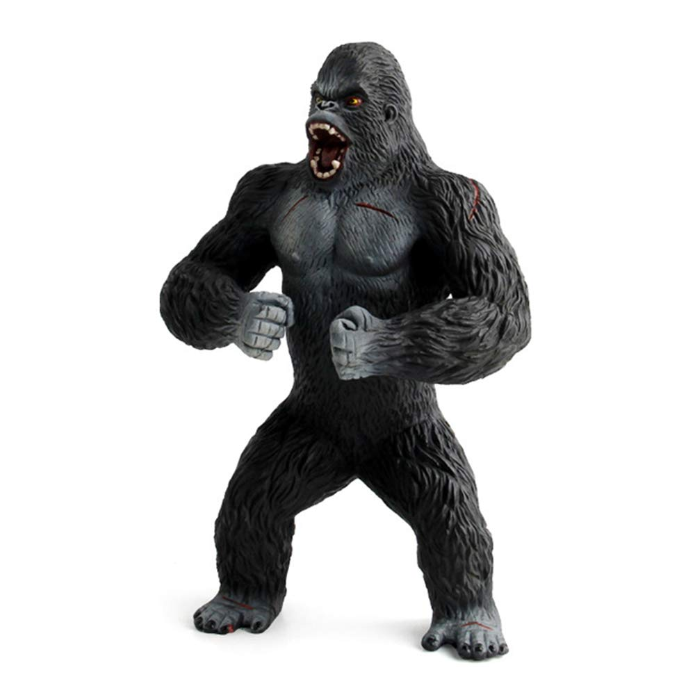 HiPlay 7.4 Gorilla Ape Figure-Realistic Design with Amazing Detail Hand-Painted Big Size Animal Model HP-D058