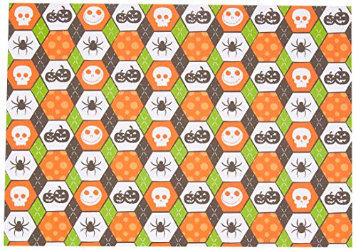 Ursus 11854601 Photo Card Happy Halloween 300 g/m² DIN A4 Motif 01 10 Sheets Multi-Coloured