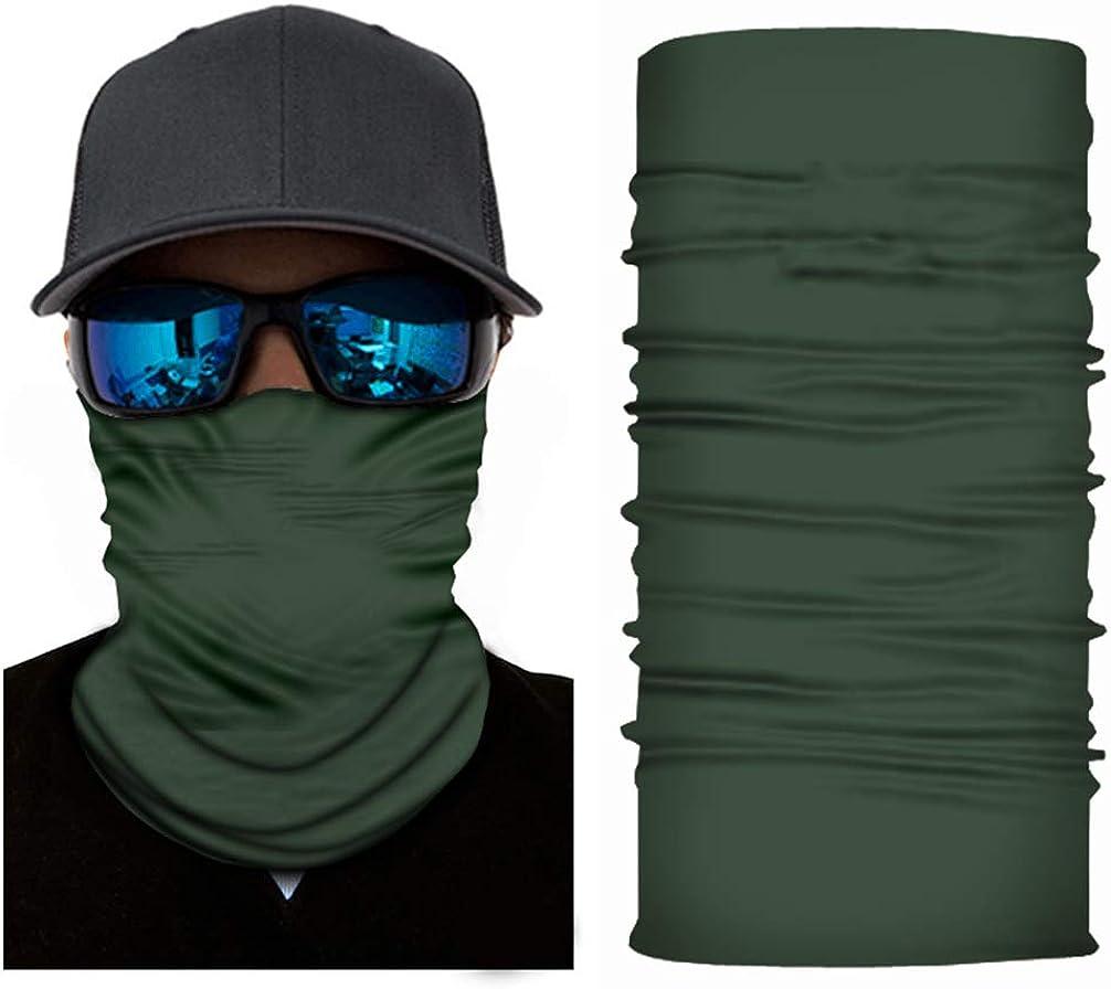 Baclavaace Face Mask Summer Dust UV Protection Bandanas Fishing Gaither Mask