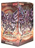 Yu-Gi-Oh! Konami Yugioh Card ZEXAL Booster Pack Box OCG 200 Cards Lord of the Tachyon Galaxy Korea Version