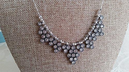 Touchstone Crystal by Swarovski Vintage Crystal Gala Statement Necklace NIB (Jewelry Crystal Touchstone)