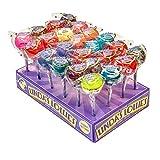 Linda's Lollies Gourmet Lollipops 24 Count Box Assorted Flavors - Nut, Gluten & Dairy Free - No Fat
