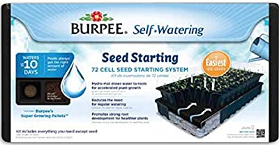 Burpee 72-Cell Self-Watering Greenhouse Kit