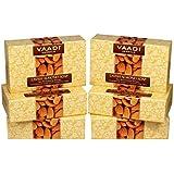 Vaadi Herbals Lavish Almond Soap, 75gms x 6