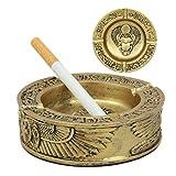 Ebros Gift Ancient Egyptian Winged Scarab Ashtray Cigarette Ashtray Resin Figurine