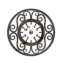 New Quartz Wall Clock Europe Design Reloj De Pared Large Decorative Clocks 3D DIY Acrylic Mirror Living Room Wall Clocks Black