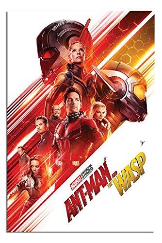 Ant-man and The Wasp One Sheet Poster Satin Matt Laminated -