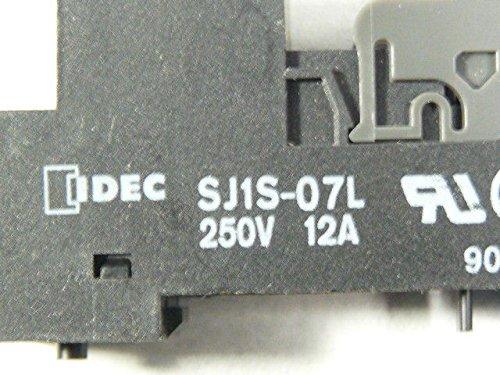 NEW IDEC SJ1S-07L Finger Safe Relay Socket 5-Pin 12A 250V