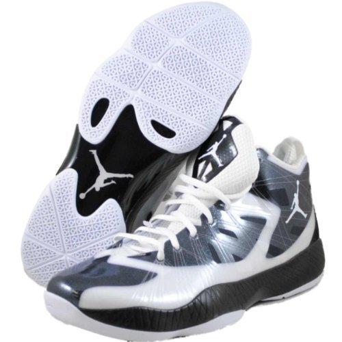 [ナイキ] Men 's Air Jordan 2012 Liteバスケットボールシューズホワイト/ブラック  11 D(M) US