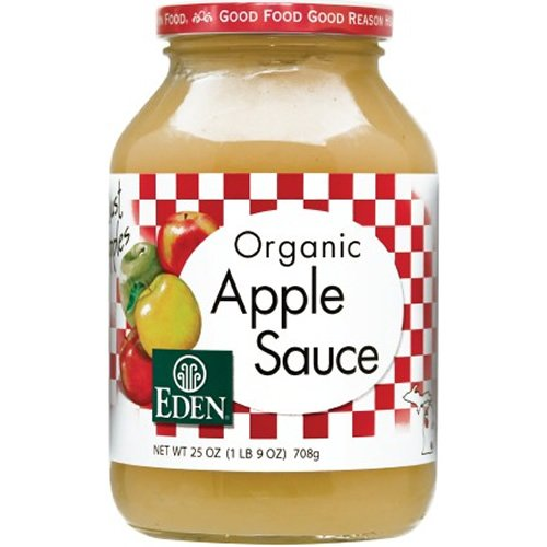 Eden Foods, Applesauce, At least 95% Organic, 25 oz