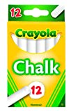 Crayola White Chalk 12 each (51-0320): more info