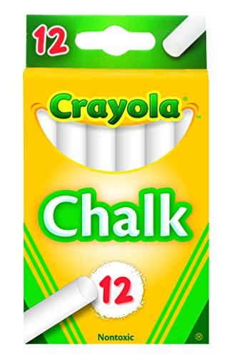- Crayola White Chalk 12 each (51-0320)