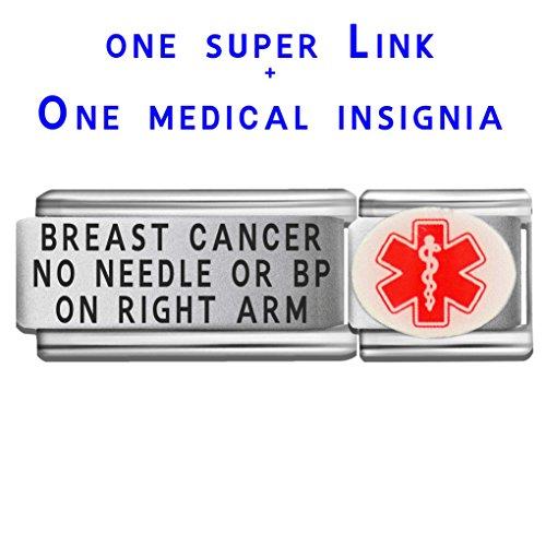 breast-cancer-no-needle-or-bp-on-right-arm-dolceoro-italian-charm-medical-id-modular-enamel-super-li