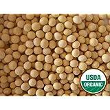 13 lbs Certified Organic Yellow Soybean seed, NON-GMO, Sprouting, Soymilk, Tofu