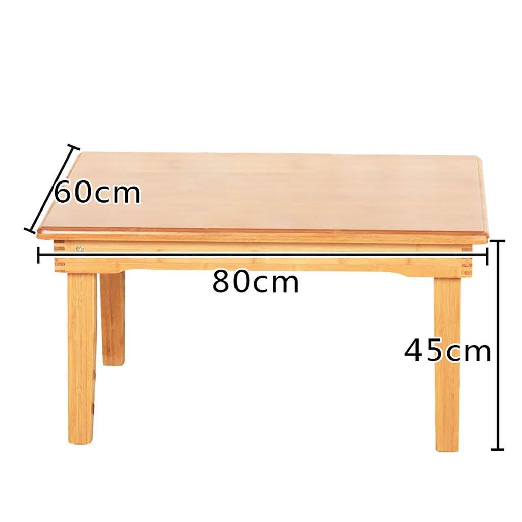 Table en bois ordinateur bureau lit plier paresseux Portable ordinateur portable petit bureau lit ( taille : 60*80*45cm