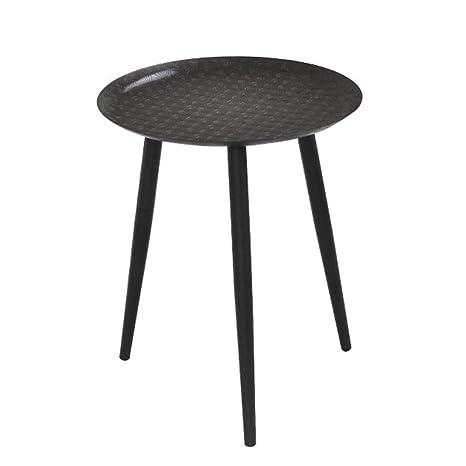 super popular 61def c5e7c Amazon.com: TAESOUW-Home Small Modern Metal End Table Side ...