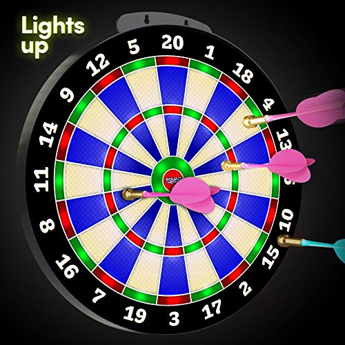 Light-up Magnetic Dart Board