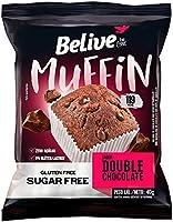 Muffin Double Chocolate Zero Açúcar sem Glúten sem Lactose Belive 40g