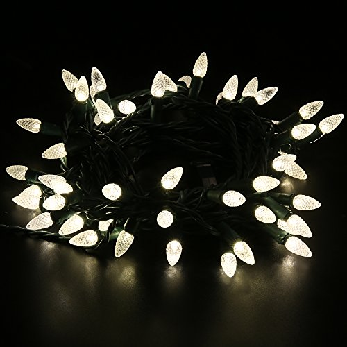 Outdoor Led Christmas Lights Warm White - 8