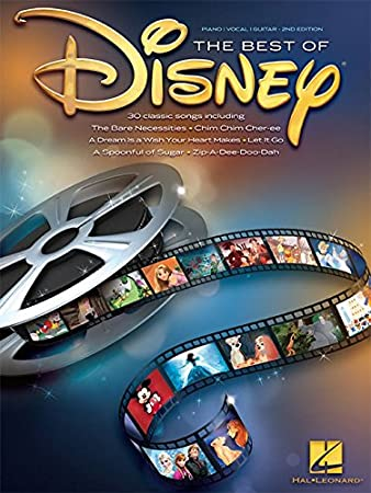 The Best Of Disney. Sheet Music for Piano, Vocal & Guitar(with Chord ...