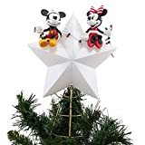 Disney Mickey & Minnie Mouse Light-Up Holiday Tree Topper