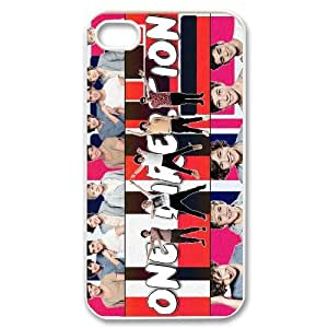 One Direction Little Things Case For Iphone 4 4S case cover TPUKO-Q847615