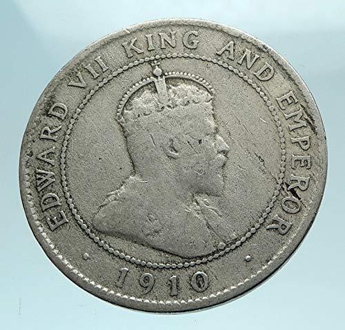 1974 Arms - 1974 JM 1974 JAMAICA UK King Edward VII Coat of Arms Genu coin Good Uncertified