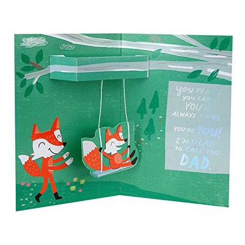 Hallmark Father's Day Greeting Card from Child (Glad to Call You Dad) Photo #4