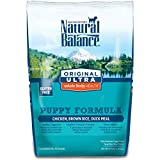 Natural Balance Puppy Formula Dry Dog Food, Original Ultra Whole Body Health, Chicken, Brown Rice & Duck Meal Formula, 4.5-Pound