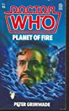 Front cover for the book Doctor Who: Planet of Fire by Peter Grimwade