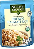Seeds Of Change Organic Brown Basmati Rice (6 Pack), Ready to Heat 8.5 oz Pouches