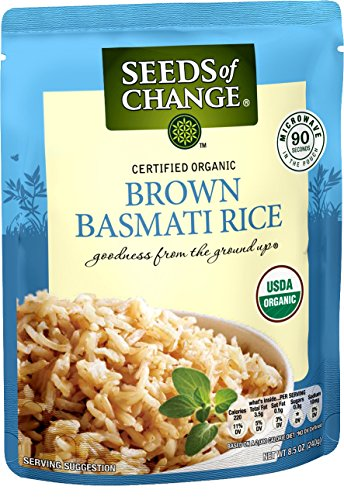 SEEDS OF CHANGE Organic Brown Basmati Rice (12pk) (Best Brown Basmati Rice Recipe)
