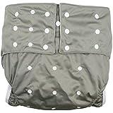 lukloy Hombres Adultos de pañales para incontinencia cuidado ropa interior de protección – doble apertura bolsillo lavable…