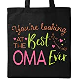 Inktastic - You're Looking at the Best Oma Ever Tote Bag Black 2f5f6