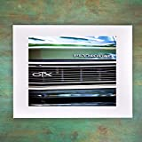 Classic American GTX Muscle Car Grill Photography