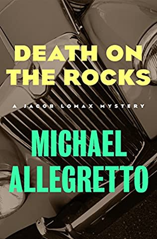 book cover of Death on the Rocks