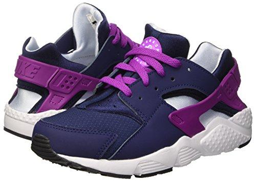 Run Da Huarache Corsa Nike Bambina Ps hyper midnight Navy Multicolore Violet Scarpe Tint Blue 5HTxffIq