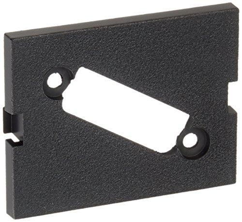 Hubbell IMBDVI15BK iSTATION Module, DVI Port, Unloaded, 1.5 Unit, Black