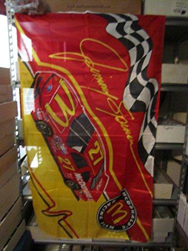 JIMMY SPENCER #27 McDONALD'S RACING TEAM 3'X5' FLAG Mcdonalds Racing
