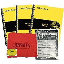 John Deere 750 All S/N Deluxe Tractor Manual Kit