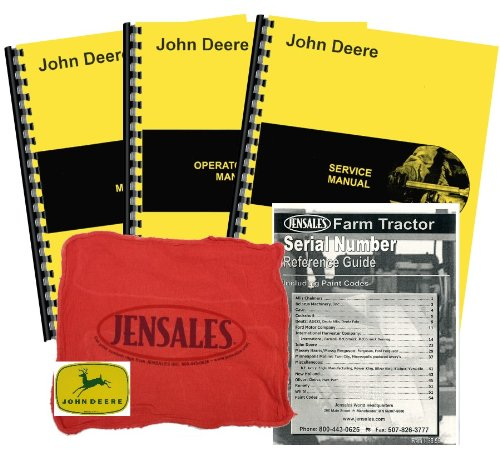 John Deere B Unstyled Deluxe Tractor Manual Kit